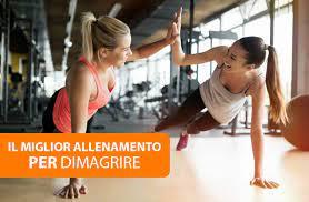 programma dieta e allenamento per perdere peso